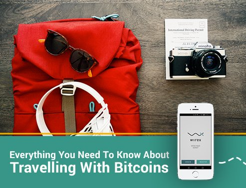 travelling with bitcoins