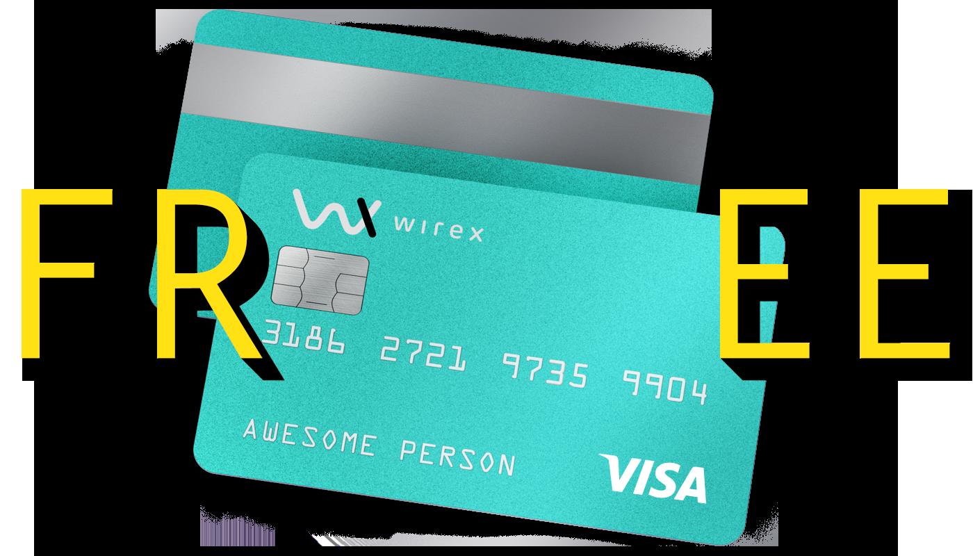 Wirex Visa card