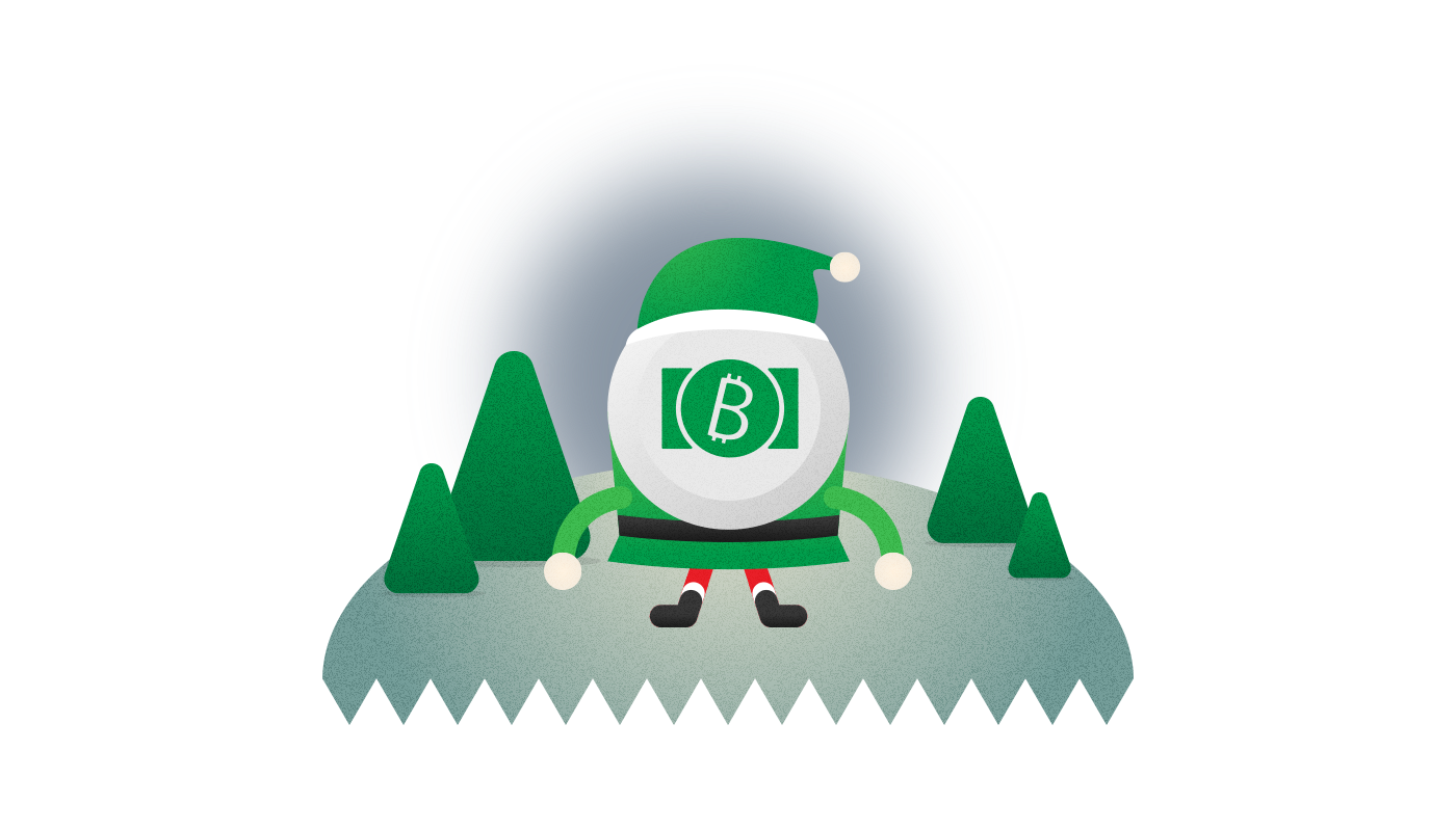 bitcoin cash 12 days of christmas wirex