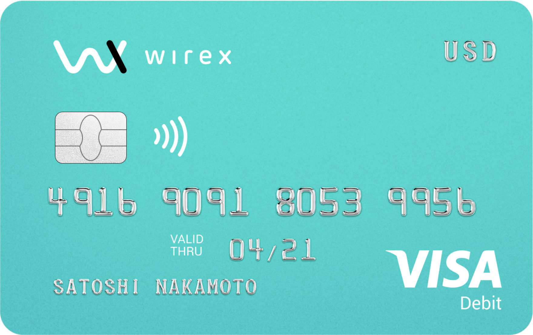 carta visa wirex