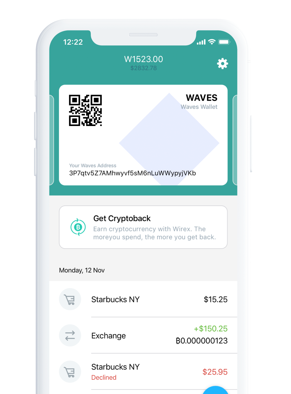 Waves account