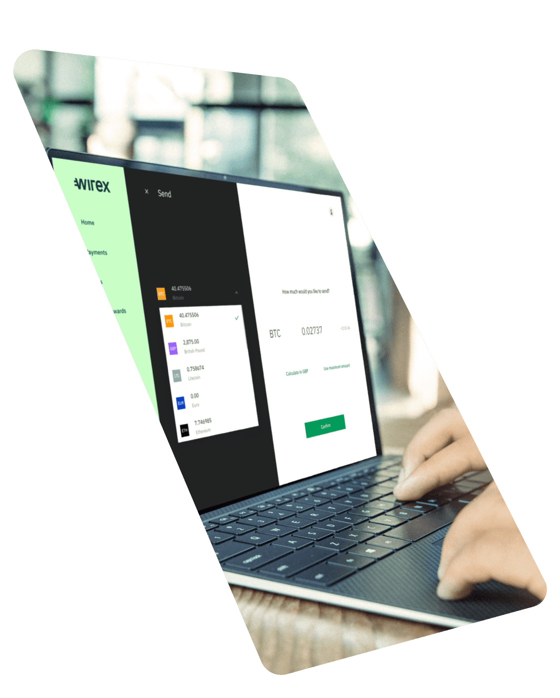 Open your free account in minutes   Wirex