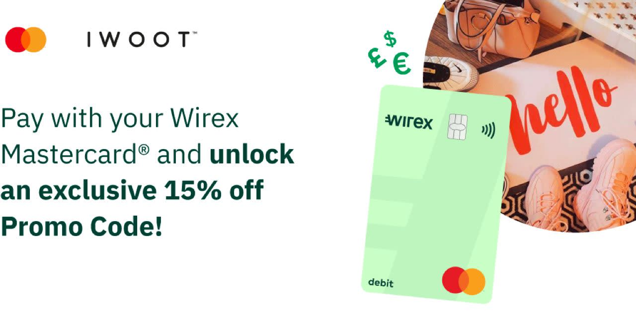 IWOOT™ 15% off with no minimum spend