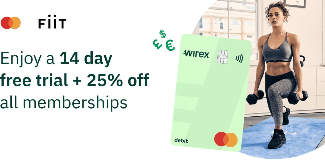 FiiT: enjoy a 14 day free trial + 25% off all memberships