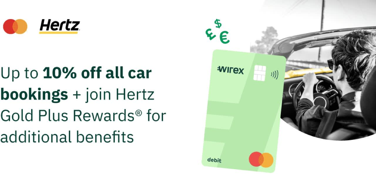 Hertz: up to 10% off all car bookings