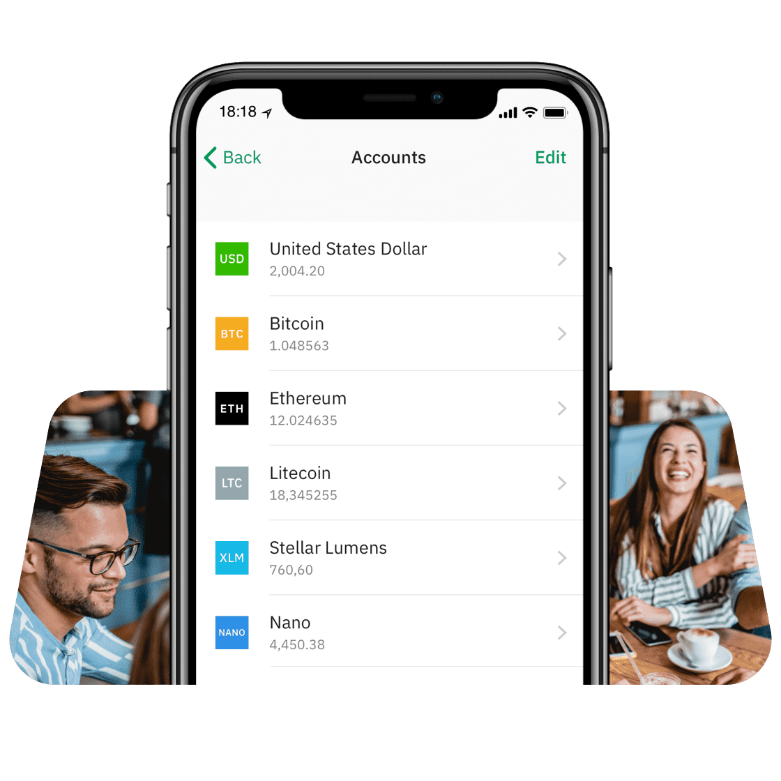 Secure personal accounts   Wirex